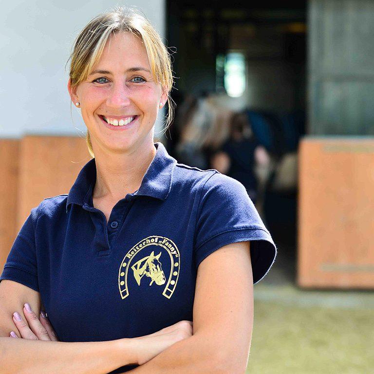 <b>Silke Fahnenschmidt</b><br>Staatlich geprüfte Bereiterin FN und Pferdewirtschaftsmeisterin